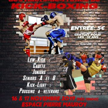 Championnat de ligue de Kick-boxing au Spartiate