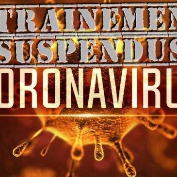 Covid-19 : entraînements suspendus