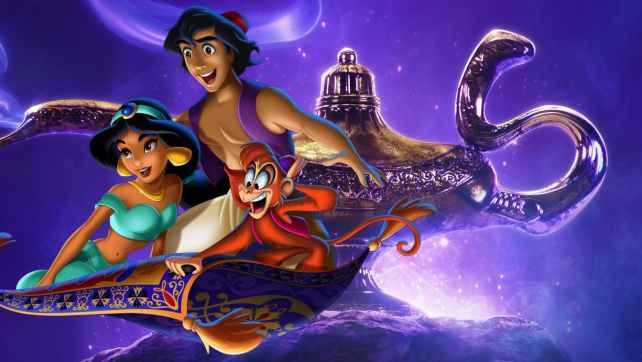 A whole new world – Aladdin