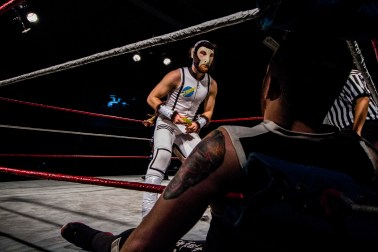 Space Monkey; Tier 1 Wrestling | Credit: Andrew Kao