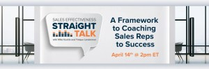 sales coaching framework