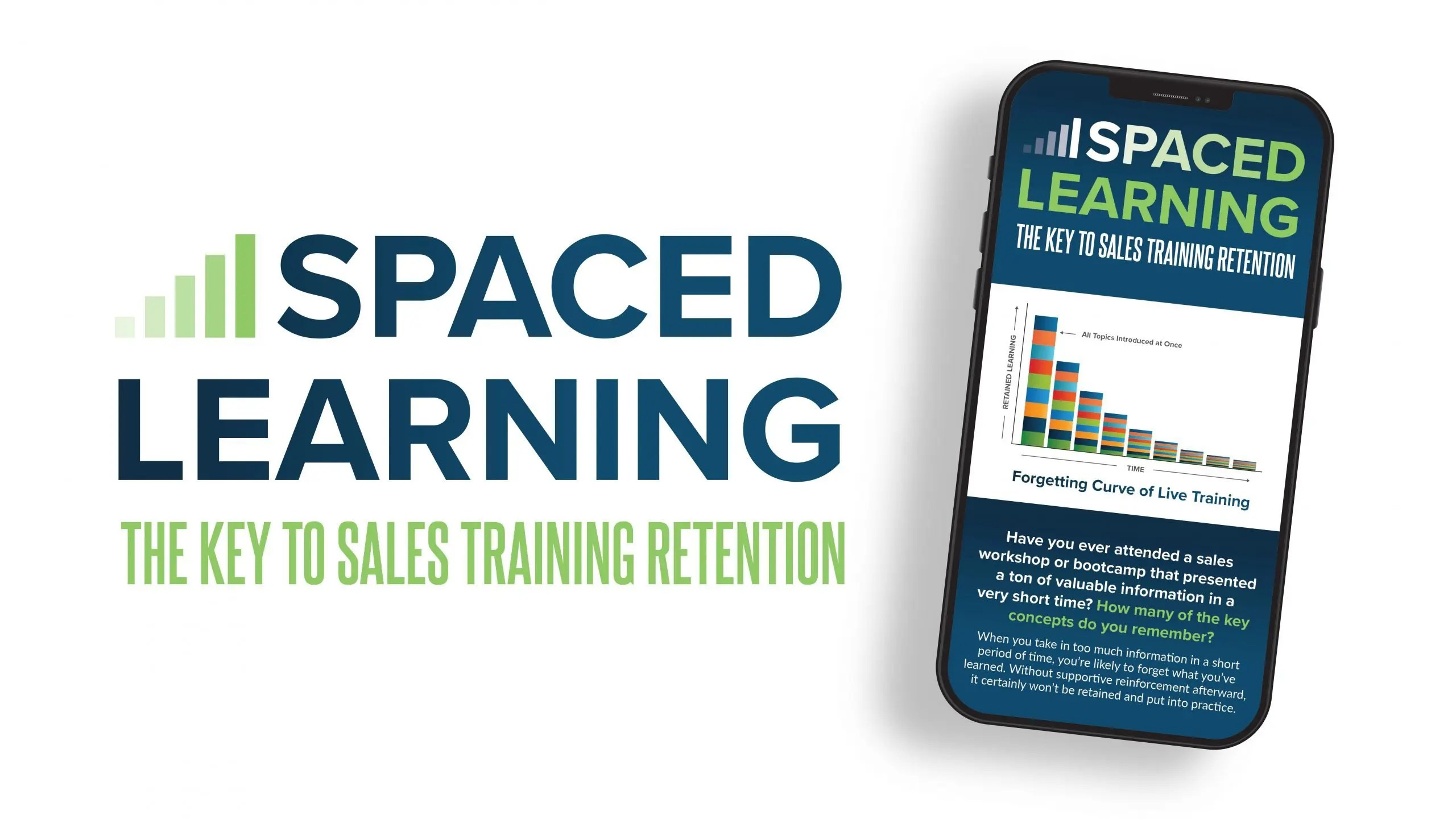 spaced learning infographic