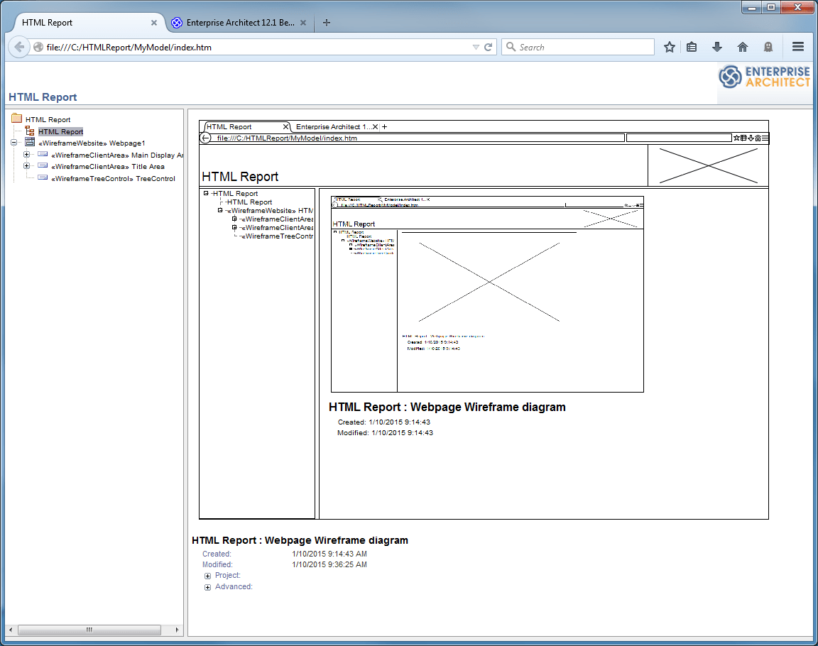 hight resolution of example reports