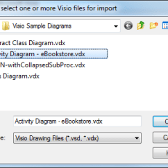 Visio Activity Diagram You Can Create A Database For Importing Diagrams Into Enterprise Architect Sparx Systems