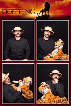 fotobox lion king
