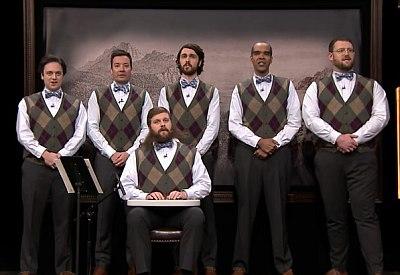 """""""The Gentlemen's Chorus"""" singt Green Day's Good Riddance"""