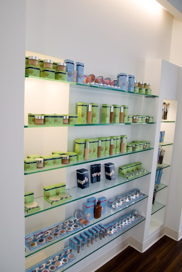 Spa Retail Display Ideas