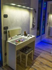 spa suite con angolo trucco