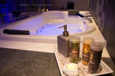 vasca idromassaggio in camera