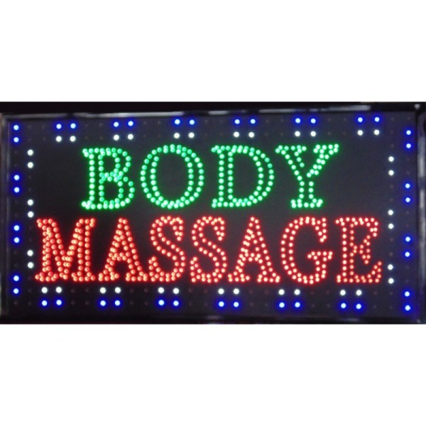 Led Sign 009 Body Massage