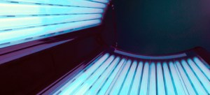 a sunbed which is working