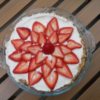 Strawberry Cream Pie Recipe