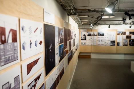 Projects on the walls