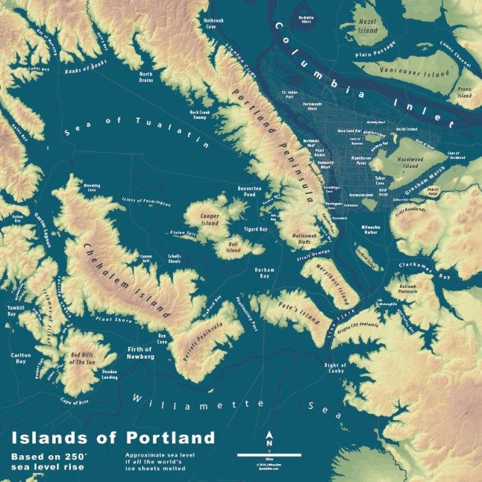 Islands of Portland