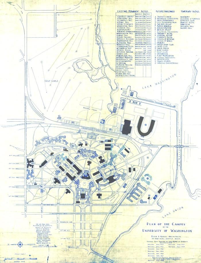 1915-1945 UW Regents Plan