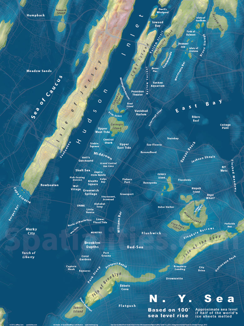 Sea level rise maps spatialities the ny sea gumiabroncs Images