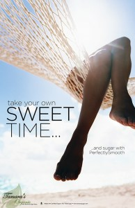 take your own sweet time