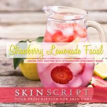 May's Strawberry Lemonade Facial Captures the Spirit of Spring