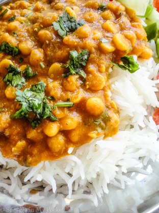 Dal (curried lentils) is comfort food in all its comforting glory! It comes together in minutes and is very healthy and filling.