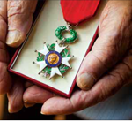 Legion of Honor presented to Nat Landes