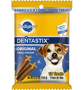 DentaStix are a great way to keep your pet's teeth healthy.