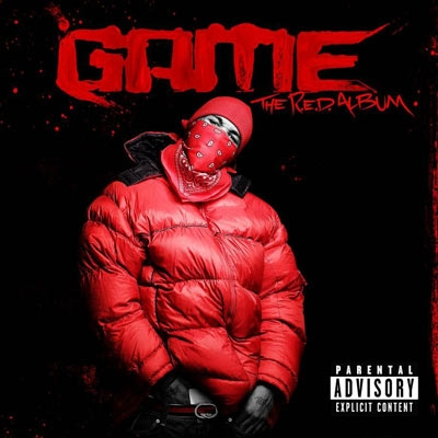 THE GAME - THE RED ALBUM COVER