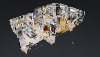 Bild und Rahmen am Marktplatz 3D Model