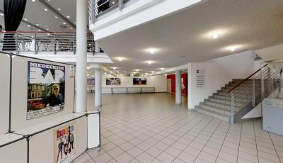 Stadthalle Soest – Großer Saal mit Reihenbestuhlung 3D Model