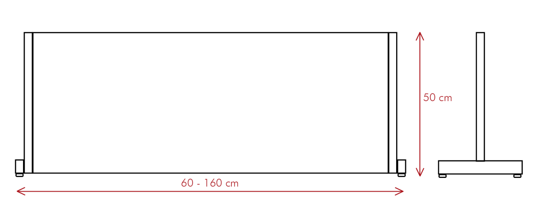 vector mampara proteck L - Proteck L