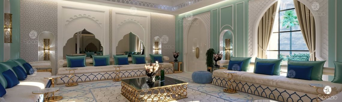 Modern Moroccan style interior design and home décor in ...