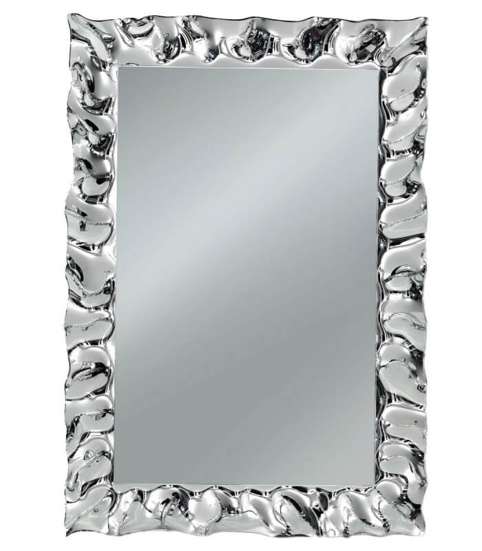 Specchio con Cornice Moderna Argento