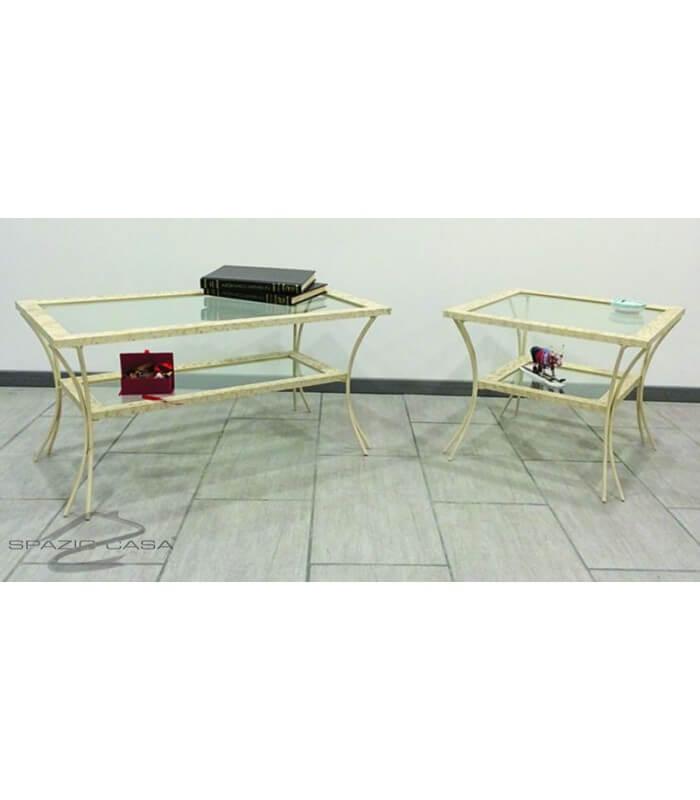 Tavolino Salotto Ferro Battuto Tavolo Pranzo Tavolino