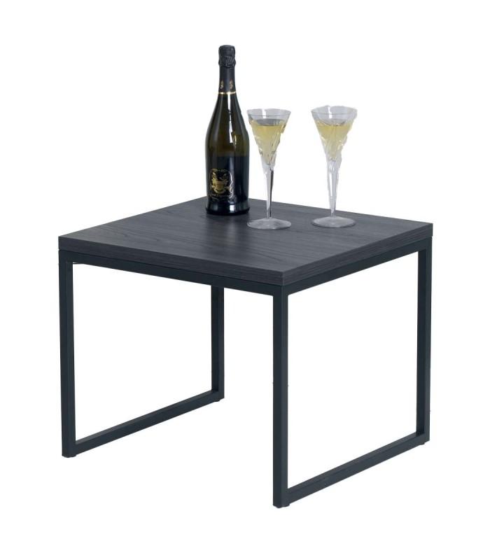 Che salotto sarebbe senza un tavolino da divano? Tavolino Quadrato Da Salotto Design Moderno Dm Spazio Casa