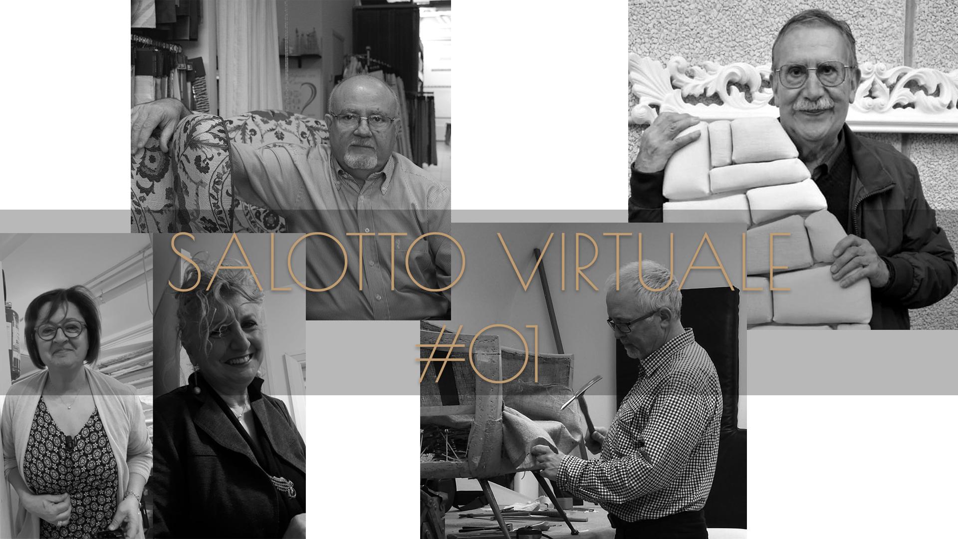 Alchimia Tessile - Salotto Virtuale - Pietro Virzi - Raffaele Belfiore - Rita Moretti - Orazio Cannistraci