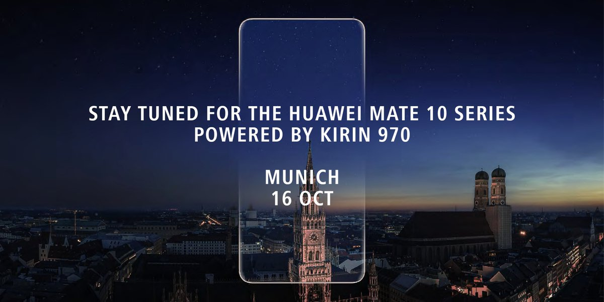 Huawei Mate 10: immagini e video rendering