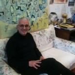 Alessandro Docci nel suo studio