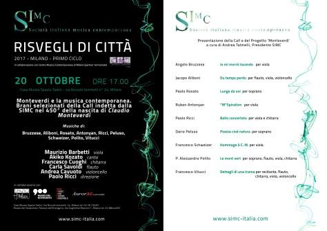 concerto 20 ottobre SIMC