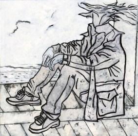 Fulvio Tornese ritratto sul bordo 100x100
