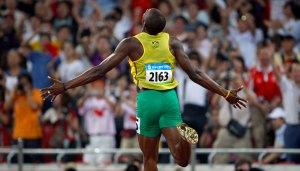OLYMPIC GAMES PECHINO 2008, Usain Bolt Agosto 2008 Photo by Alessandro Trovati