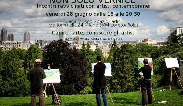 Non solo vernice: incontri ravvicinati con gli artisti contemporanei