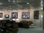 Paolo Valle sala dell'aeroporto di Malpensa