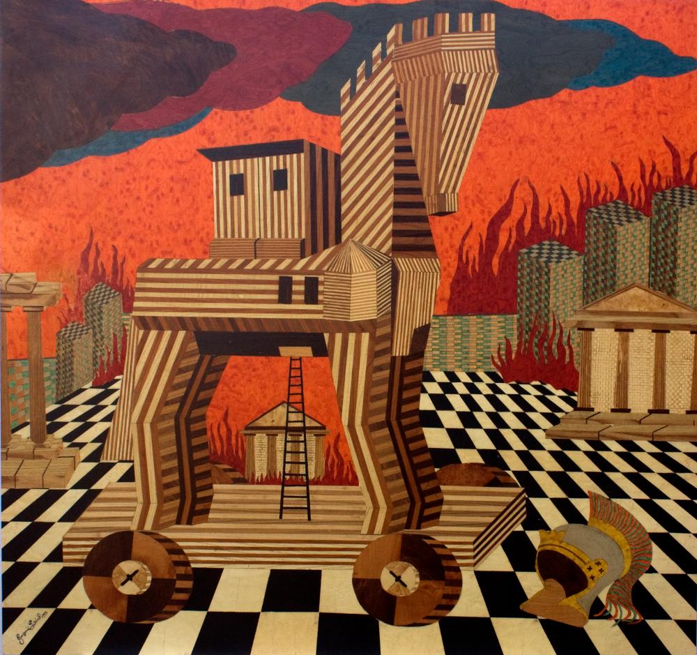 Fuorisalone 2017- Intarsio in legno con l'arte di Lino Giussani