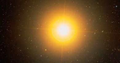 La stella gigante Aldebaran