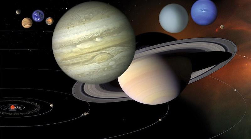 Gli oggetti maggiori del sistema solare