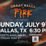 "WWE: Ipotesi sul nome del nuovo Pay-per-view ""Great Balls Of Fire"""