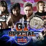 NJPW: Card completa di sabato per G1 Special in USA