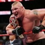 WWE: Brock Lesnar ha difeso il titolo stanotte