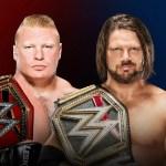 WWE: 5 motivi per cui il match tra Brock Lesnar e AJ Styles può diventare il match dell'anno