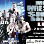Wrestling Megastars: Incredibile Red Scorpion vs Rob Van Dam sabato a Bologna (Video)