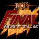 ROH: Card completa di Final Battle 2017